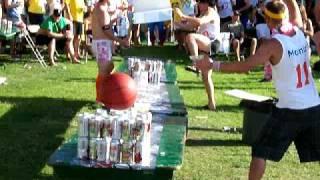 Table Bowling In The Beer Garden - Kamloops 2008