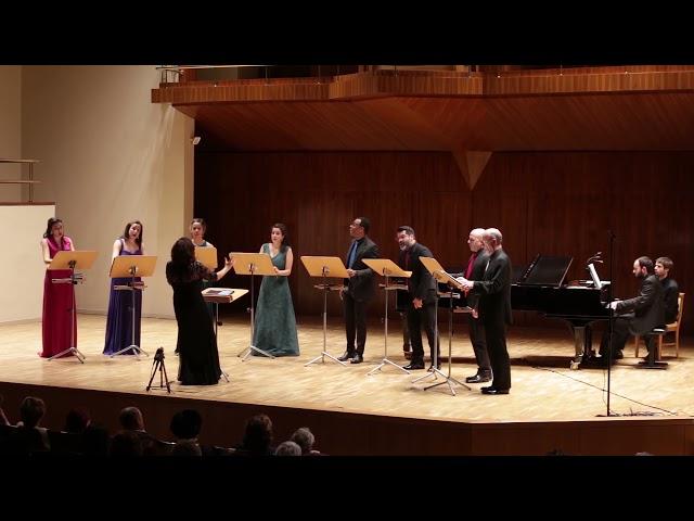 The brightest heaven, D.  Elder. Ensemble Vocal Mirtos. Dir. Nuria Fernández Herranz.