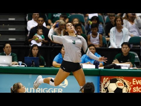 Rainbow Wahine Volleyball 2017 - #20 Hawaii Vs #13 UCLA