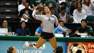 Rainbow Wahine Volleyball 2017 - #20 Hawaii Vs #13 UCLA