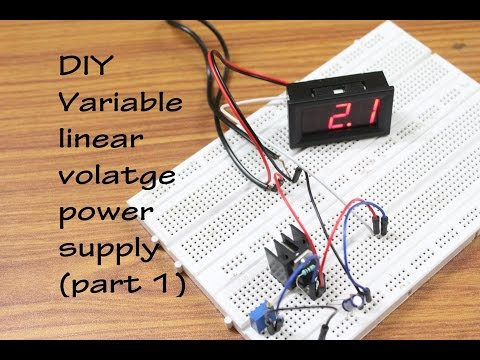 DIY Variable Linear Voltage Power Supply-Part 1: 4 Steps (with Pictures)
