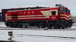 TCDD - Pamukkale Ekspreslerinin Afyon Garda buluşması