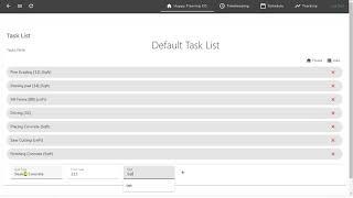 5  Creating Default tasks