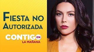 Daniela Aránguiz denunció a cuidador que hizo fiesta en su casa - Contigo en la Mañana