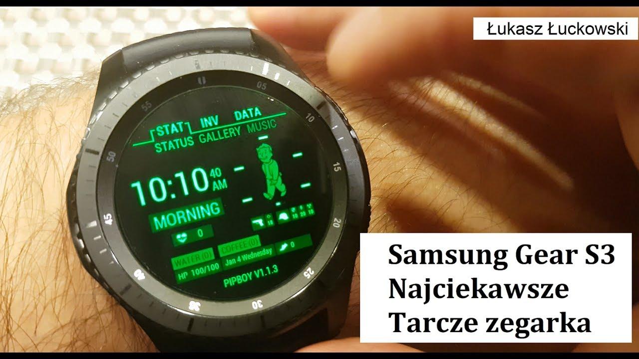 570d8390bc77fa Samsung Gear S3 najciekawsze Tarcze Zegarka   Mój wybór - YouTube