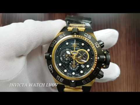 Мужские швейцарские часы Invicta Noma IV 6583 Gold Swiss
