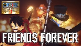 One Piece Pirate Warriors 3 - PS4/PS3/PS VITA/Steam - Friends forever (Trailer)
