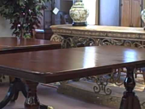 Furniture Spotlight: Mahogany Double Pedestal Dining Table - Deal of the Week