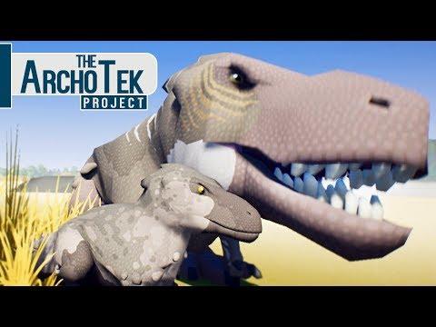 The Archotek Project - Bebê T-Rex, Família Tiranossauro, Abandonado! | Dinossauros (#7) (PT-BR)