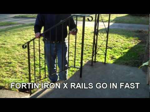 fortin ironworks iron x