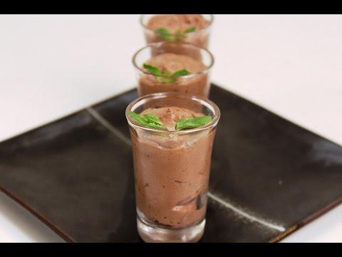 Chocolate And Nougat Mousse   Sanjeev Kapoor Khazana