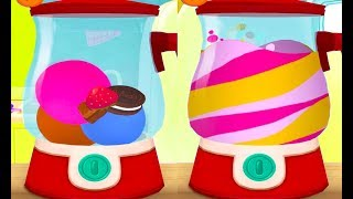 ГОТОВКА ЧЕЛЛЕНДЖ #27 Видео для детей. Доктор панда и мороженое с конфетами и шоколадом #пурумчата