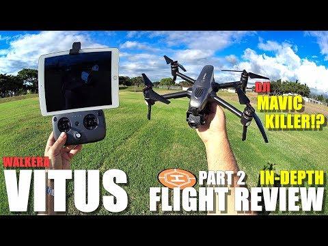 DJI MAVIC KILLER?! - WALKERA VITUS In-Depth Flight Test Review & BEE ATTACK!