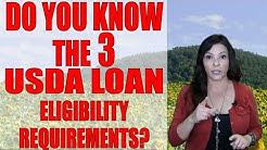3 Eligibility Requirements of this ZERO DOWN program- USDA loans in  2017 | Your San Diego Lender