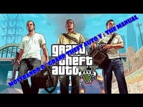 Mostrando o ''Grand Theft Auto V : The Manual ''