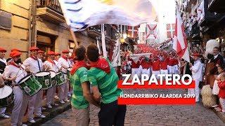 Rompan filas, Zapatero completo y final de Alarde Hondarribia 2019   Txingudi Online