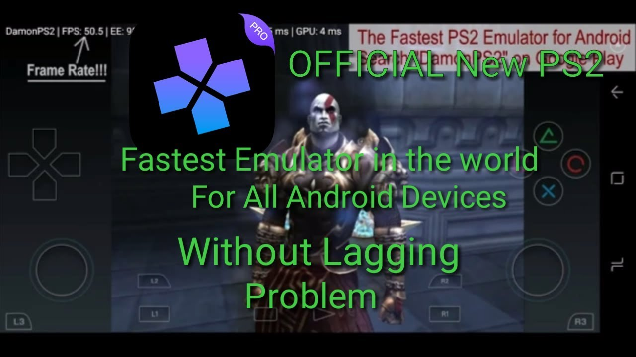 fastest ps2 emulator