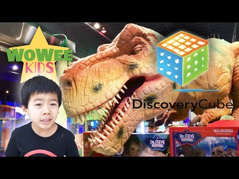 DISCOVERY CUBE SCIENCE CENTER | Family Fun Indoor Activities | Pretend Play