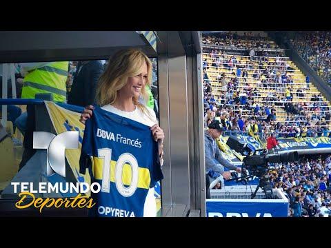 Victoria Lopyreva quiere el calor de Boca en el Mundial | Deporte Rosa | Telemundo Deportes