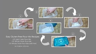 Easy Gluten-free Flour Mix Recipes | Dietplan-101.com