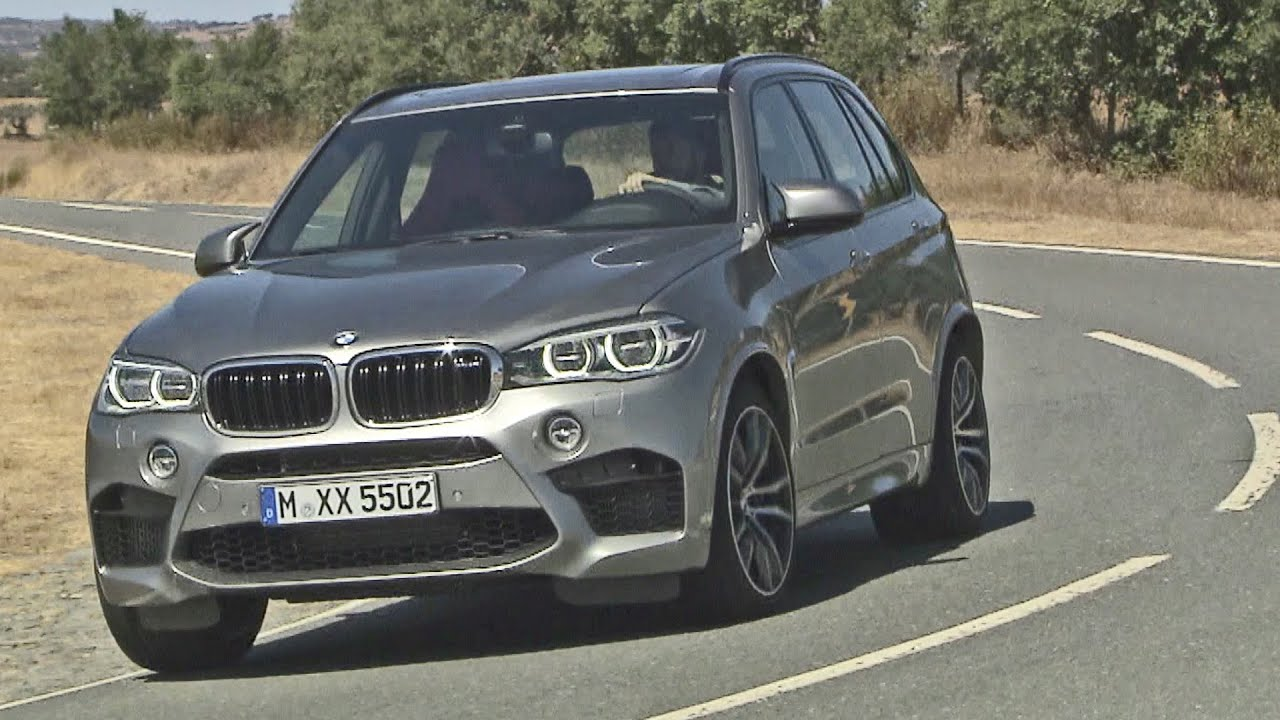 First Drive: 2015 BMW X5 M - 575 hp - Good exhaust sound ...