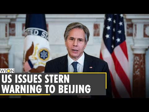 US State Secy Blinken warns China against aggression near Taiwan | Latest World English News | WION