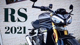 2021 Triumph Speed Triple 1200 RS FIRST RIDE REVIEW.