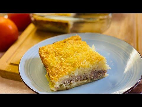 gratin-de-pommes-de-terre-avec-viande-hachée-et-fromage