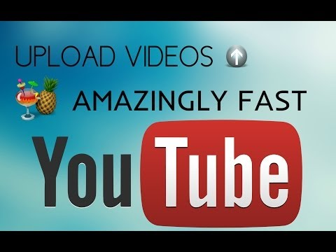 HOW TO UPLOAD VIDEOS AMAZINGLY FAST ON YOUTUBE ! (REALLY WORKS) - 2017/2016 [NO QUALITY LOSS]