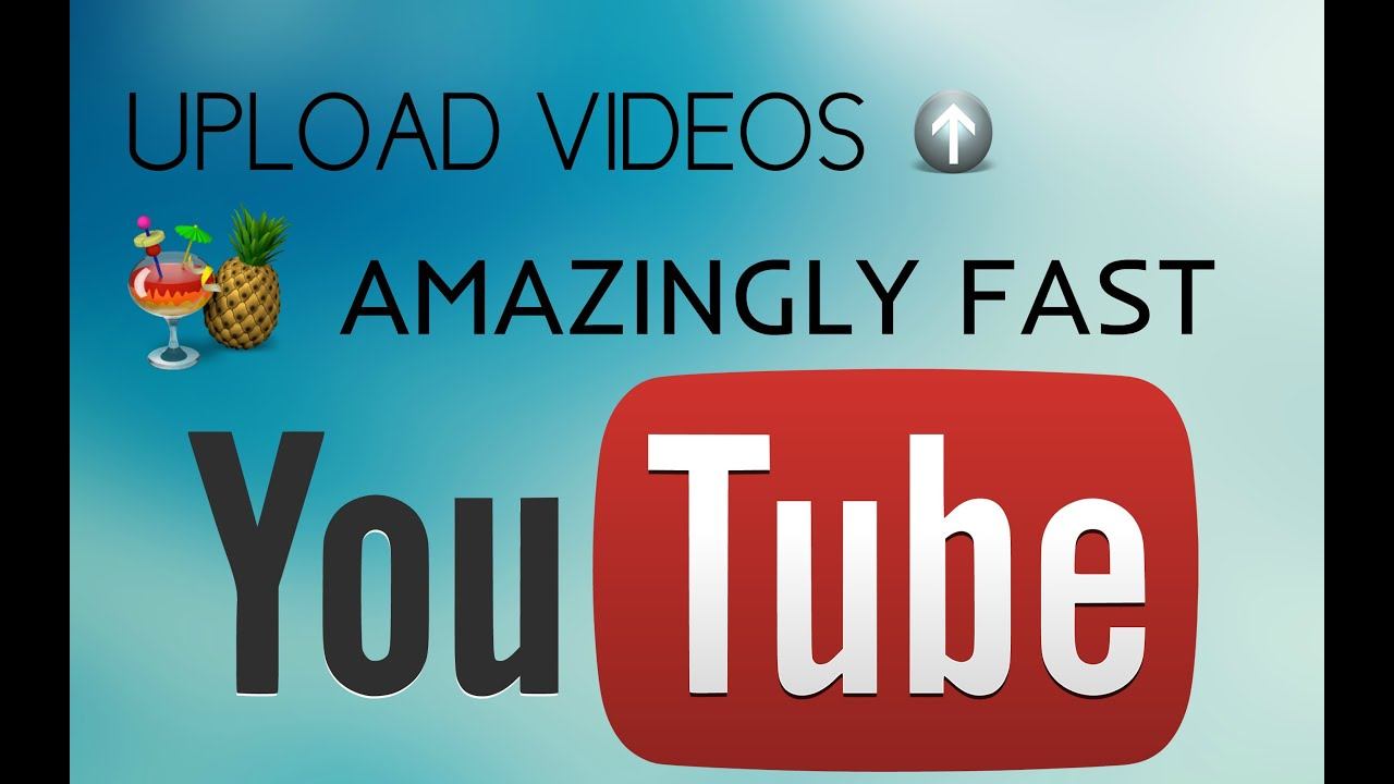 How to upload videos amazingly fast on youtube really works how to upload videos amazingly fast on youtube really works 20172016 no quality loss youtube ccuart Image collections