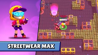 New Skin Streetwear Max - Brawl Stars Summer Update Super City Rampage New Skins New Brawler Surge!