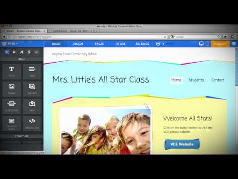 How To Create Teacher Website Using Weebly
