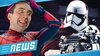 Star Wars: Phasma kehrt zurück & Nicolas Cage wird Spider-Man - FLIPPS News