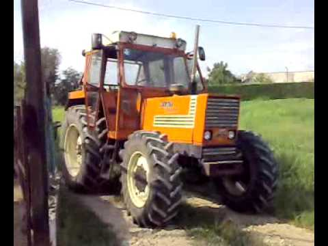 BACCHINAGRI: Fiat 1180 Dt & New Holland TL100A con Wendrame - YouTube