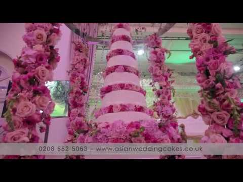 Asian wedding cakes - London's Luxury Wedding cake supplier