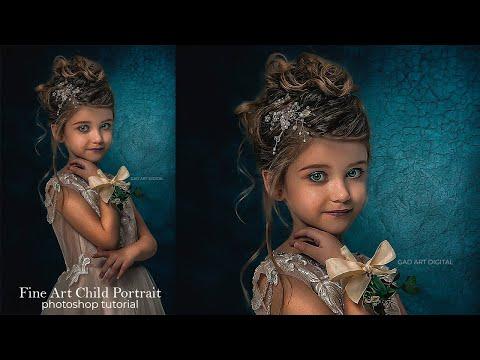 Fine Art Child  - Tutorial Fine Art  - Photoshop