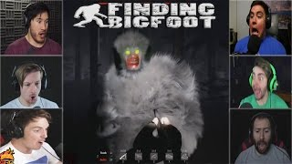 Gamers Reactions to the BIGFOOT ATTACK  | Finding Bigfoot