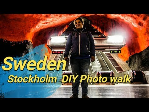 Stockholm DIY Photography tour and we show you were we got married in stockholm