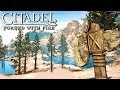 BRAND NEW Skyrim Multiplayer WITH BASE BUILDING GAME!?! Citadel Forged with Fire Gameplay