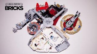 Lego Star Wars 75222 Betrayal at Cloud City Speed Build