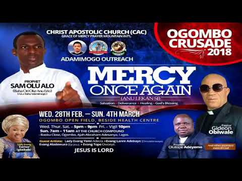 TOPIC-7HOURS7PROPHET FEBRUARY @ADAMIMOGO OUTREACH AKURE