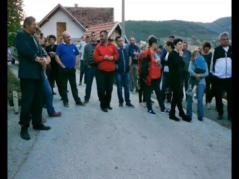 Protest mestana Usca