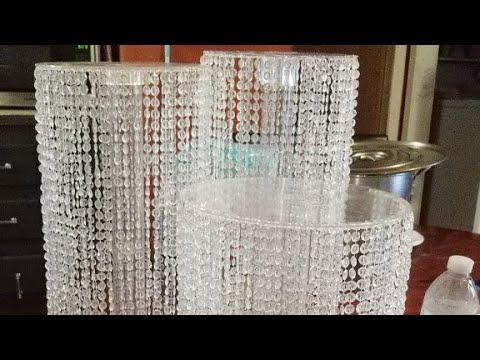 Bases de cristales para pasteles economicas y facil youtube - Cristales de colores para mesas ...