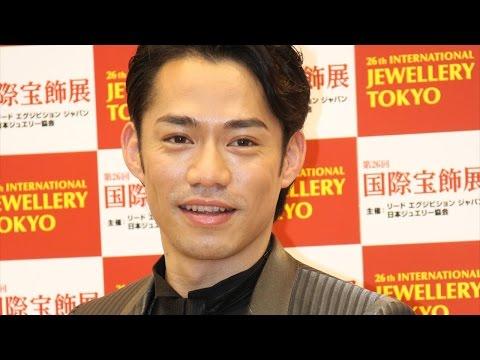 高橋大輔、ジュエリーのプレゼントは「結婚したいと思うとき」 「第26回日本ジュエリーベストドレッサー賞」(特別賞男性部門)会見 #Daisuke Takahashi