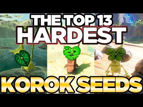Top 13 HARDEST Korok Seeds In Breath Of The Wild! | Austin John Plays