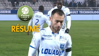 AJ Auxerre - Havre AC (1-1)  - Résumé - (AJA - HAC) / 2017-18