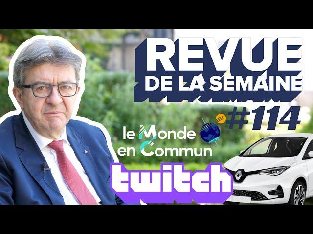 #RDLS114 : Planification écologique, voiture électrique, eau, Monde en commun, Twitch