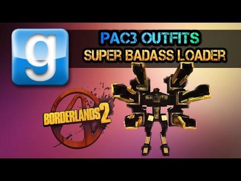 Pac3 TIMELAPSE Super Badass Loader NO DL (Borderlands 2)