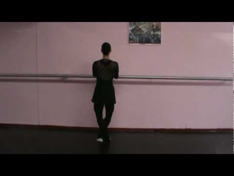 hqdefault Vaganova Ballet Academy Exercises On Pointe Classical