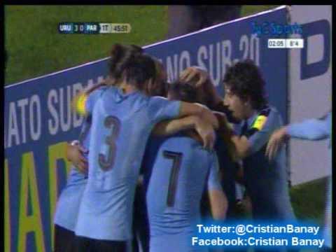 Uruguay 4 Paraguay 0 (Relato Alberto Kesman)  Eliminatorias a Rusia 2018